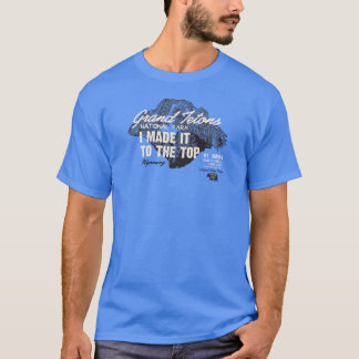 Grand Teton Natl Park Mt Moran Wyoming IMITTT T-Shirt