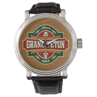 Grand Teton Old Label Watch