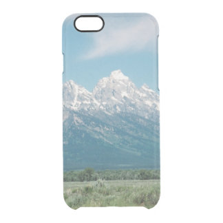Grand Teton Range View Yellowstone Clear iPhone 6/6S Case