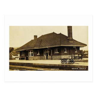 Grand Trunk Depot Pontiac Michigan Postcard