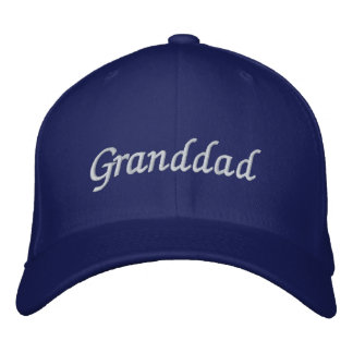 Granddad Embroidered Hat