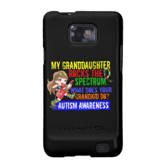 Granddaughter Rocks The Spectrum Autism Samsung Galaxy SII Cases