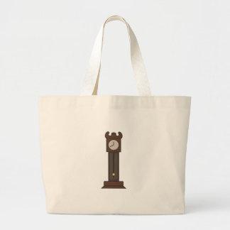 Grandfather Clock Jumbo Tote Bag