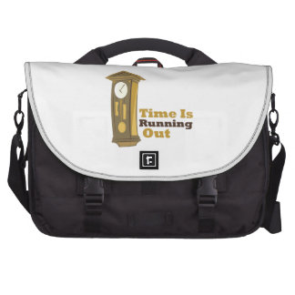 Grandfather_Clock_Time_Is_ Laptop Commuter Bag