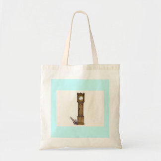 Grandfather Clock Budget Tote Bag