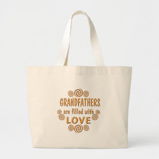 Grandfather Jumbo Tote Bag