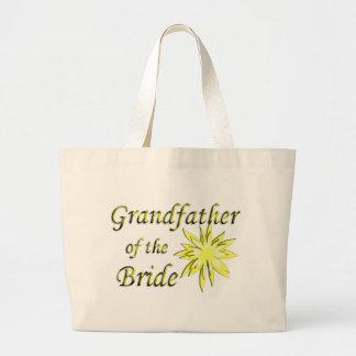 Grandfather of the Bride Jumbo Tote Bag