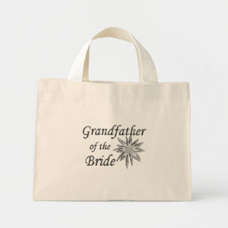 Grandfather of the Bride Mini Tote Bag