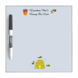 Grandma Bees Honey Do List Dry Erase Board