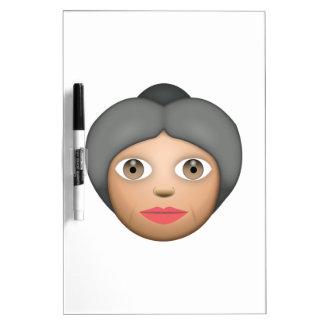 Grandma - Emoji Dry Erase Board
