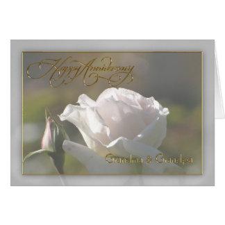 Grandma & Grandpa Wedding Anniversary Card