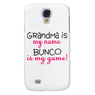 Grandma Is My Name Bunco Is My Game Samsung Galaxy S4 Cover