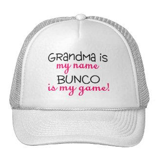 Grandma Is My Name Bunco Is My Game Mesh Hat
