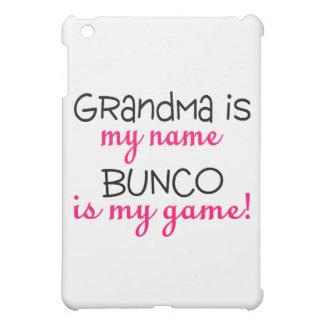 Grandma Is My Name Bunco Is My Game iPad Mini Cases