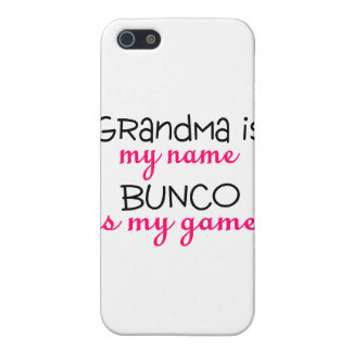 Grandma Is My Name Bunco Is My Game iPhone 5 Cases
