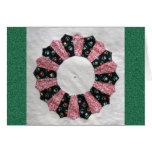 Grandma Nellie's Quilt Block #2 Greeting Card