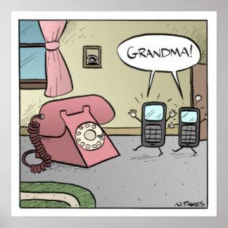 Grandma!  Poster