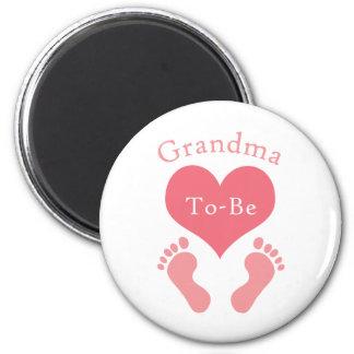 Grandma To-Be Magnet