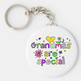 Grandmas are Special Key Ring