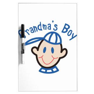 Grandmas Boy Dry Erase Board