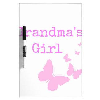 Grandma's Girl Dry Erase Board