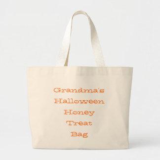 """Grandma's Halloween Honey Treat Bag"" Tote"