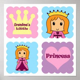 Grandma's Little Princess Poster