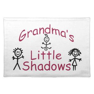 Grandma's Little Shadows Placemat