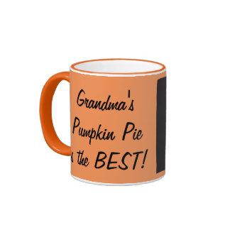 Grandma's Pumpkin Mug