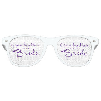 Grandmother of Bride Purple on White