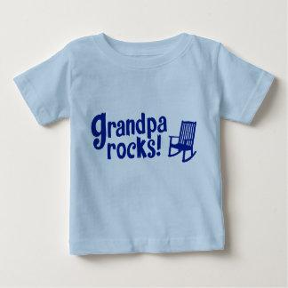Grandpa Rocks Baby T-Shirt
