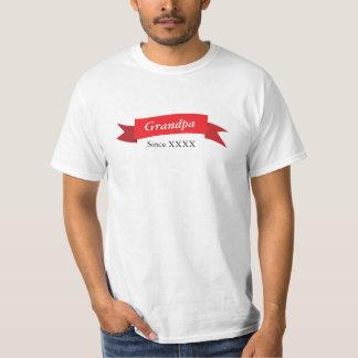 Grandpa Since XXXX T-Shirt