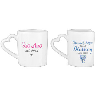 Grandparent Mugs Est. 2016