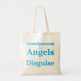 Grandparents are Angels in Disguise Budget Tote Bag