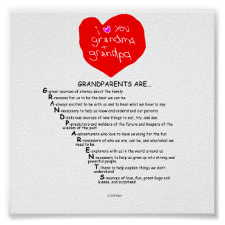 Grandparents Are... Poster