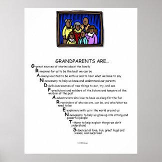 Grandparents are print