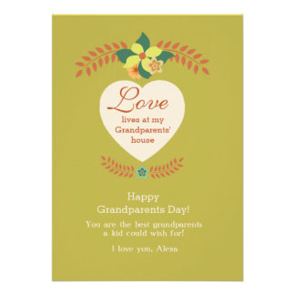 Grandparents Are Special Grandparents Day Card
