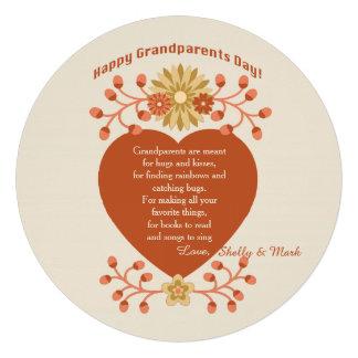 Grandparents Love Grandparents Day Card