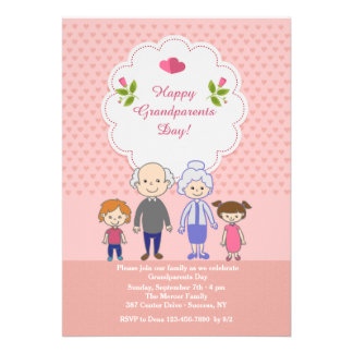 Grandparents Love Is Endless Invite