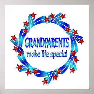 Grandparents Make Life Special Print