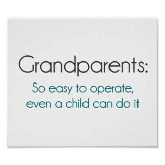 Grandparents So Easy To Operate Poster