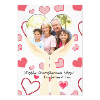 Grandparents Special Love Photo Card