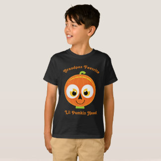 Grandpas Favorite Lil Pumpkin Head T-Shirt