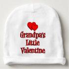 Grandpa's Little Valentine Baby Beanie