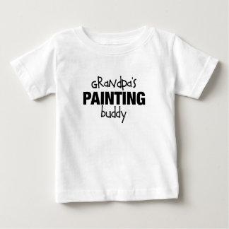 Grandpas Painting Buddy Baby T-Shirt