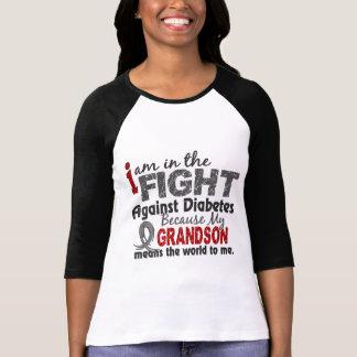 Grandson Means World To Me Diabetes T Shirts