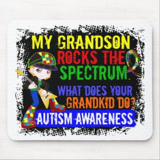 Grandson Rocks The Spectrum Autism Mouse Pad