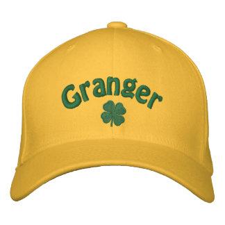 Granger - Four Leaf Clover Embroidered Hat