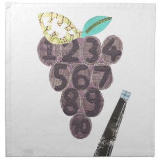 Grape Pool Cloth Napkins