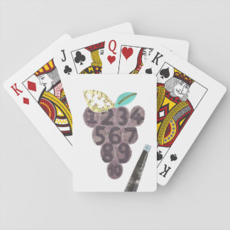 Grape Pool Playing Cards